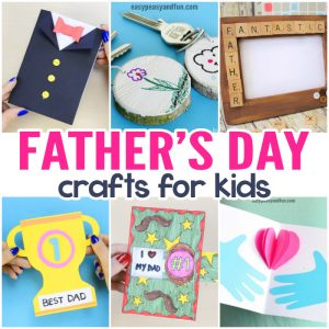 Fathers Day Crafts – Cards, Art and Craft Ideas for Kids to Make
