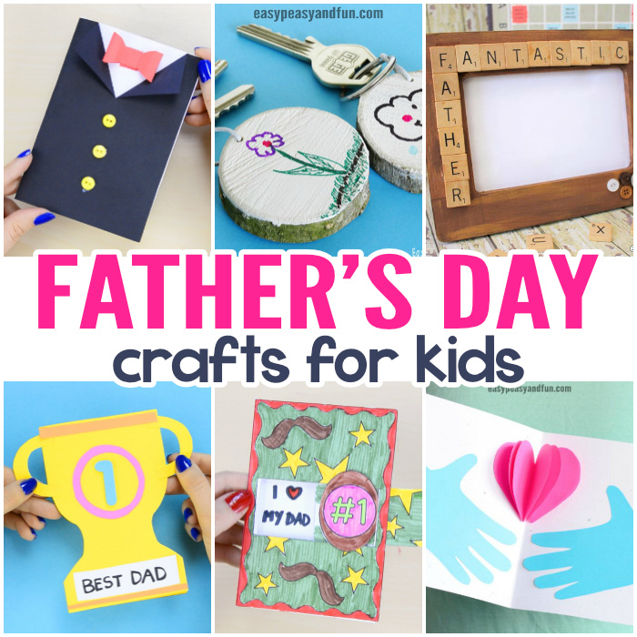 Fathers Day Crafts - Cards, Art and Craft Ideas for Kids to