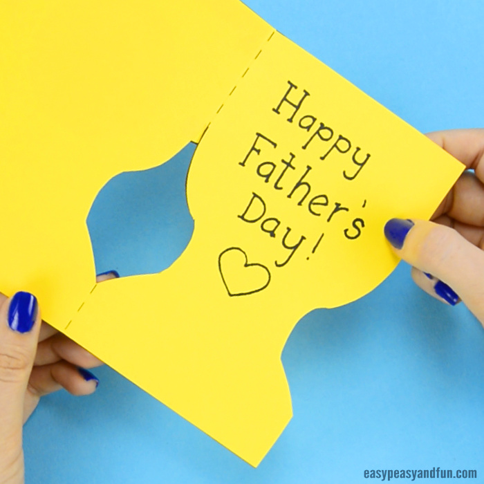 fathers day trophy card s day trophy card with printable trophy template 4450