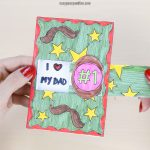 Hidden Message Father's Day Card Craft
