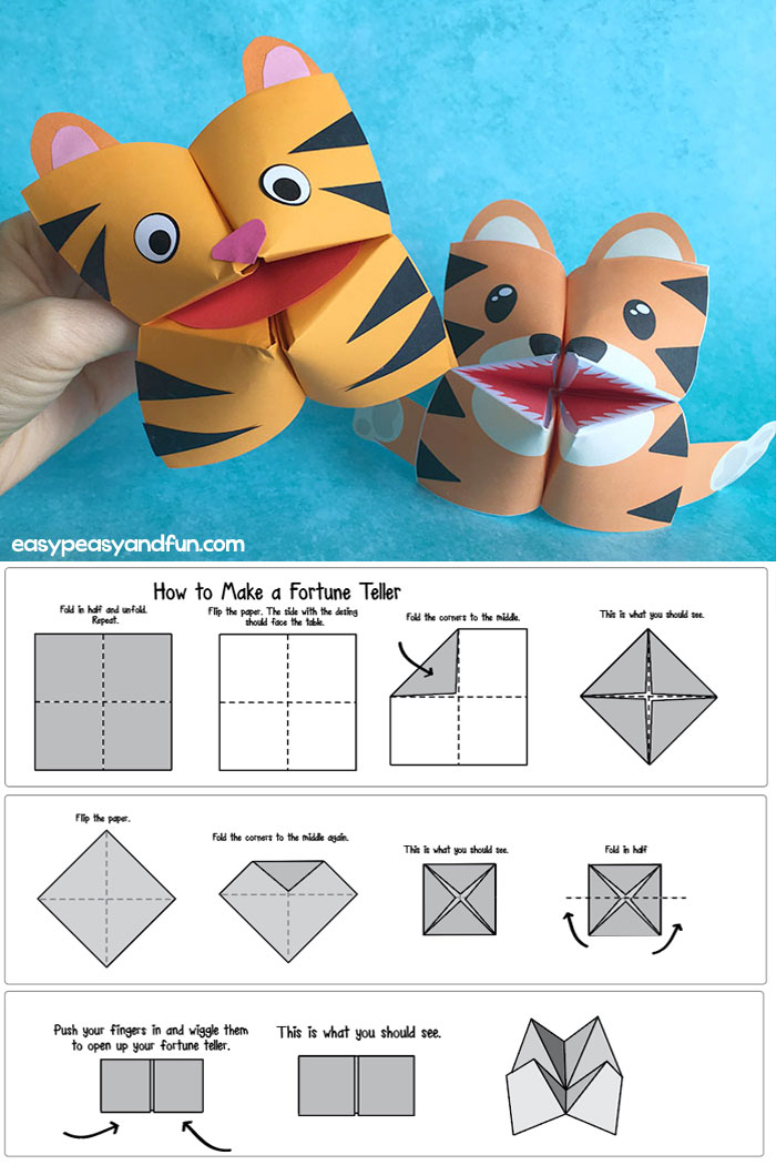 photo regarding Cootie Catcher Printable identify How in direction of Crank out a Fortune Teller (Printable Diagram Incorporated) +