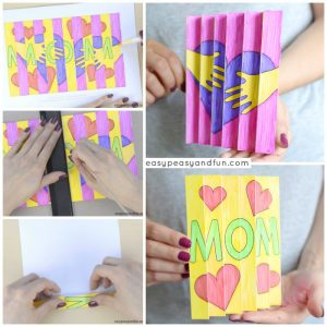 Mother's Day Agamograph Template for Kids