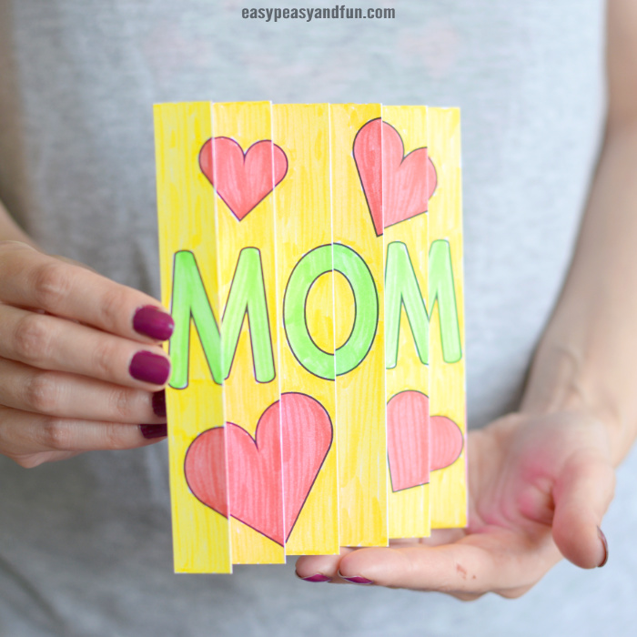 Mother's day agamograph template 1