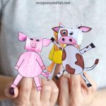Printable Farm Animals Finger Puppets 2