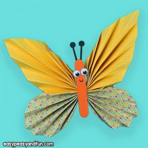 Yellow Paper Butterfly