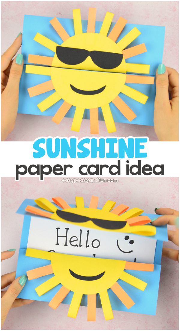 DIY Paper Card Idea for Kids to Make