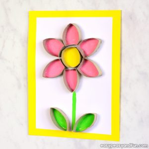 Flower Toilet Paper Roll Craft
