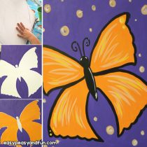 How to Paint a Butterfly – Acrylic Painting For Beginners