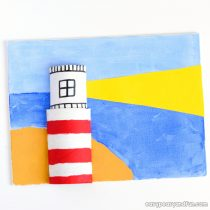 Lighthouse Art for Kids
