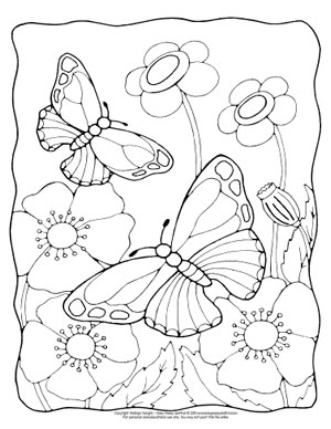 Butterfly Coloring Pages Free Printable From Cute To Realistic Butterflies Easy Peasy And Fun