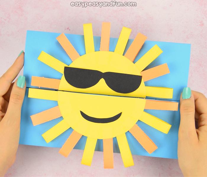 Sun DIY Paper Card Idea