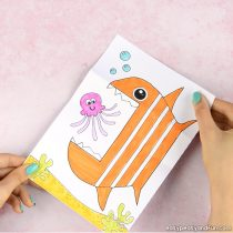 Surprise Big Mouth Fish Printable