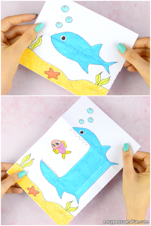 25 Shark Crafts And Activities For Kids Shark Week Easy Peasy