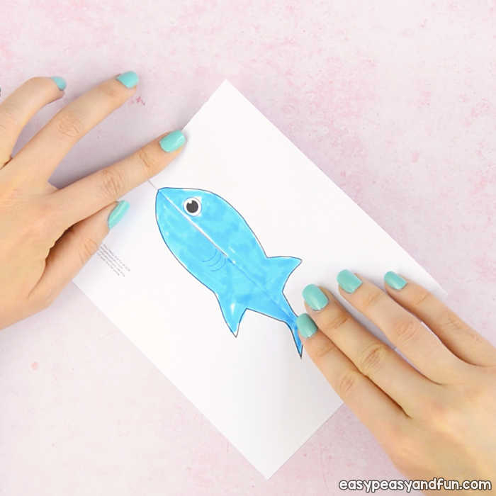 Surprise Big Mouth Shark Printable Easy Peasy and Fun