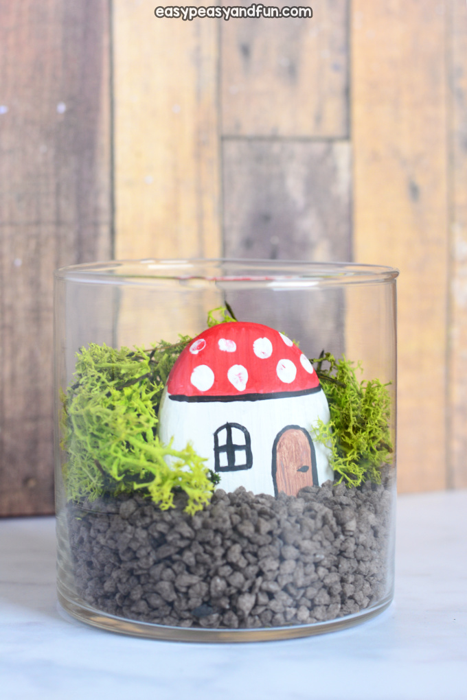 Fairy Garden in a Jar Craft for Kids