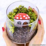 How to Make Fairy Garden in a Jar