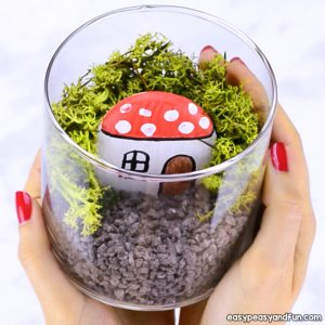 How to Make Fairy Garden in a Jar
