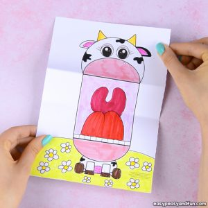 Surprise Big Mouth Cow Printable
