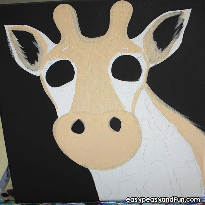 Paint the giraffe