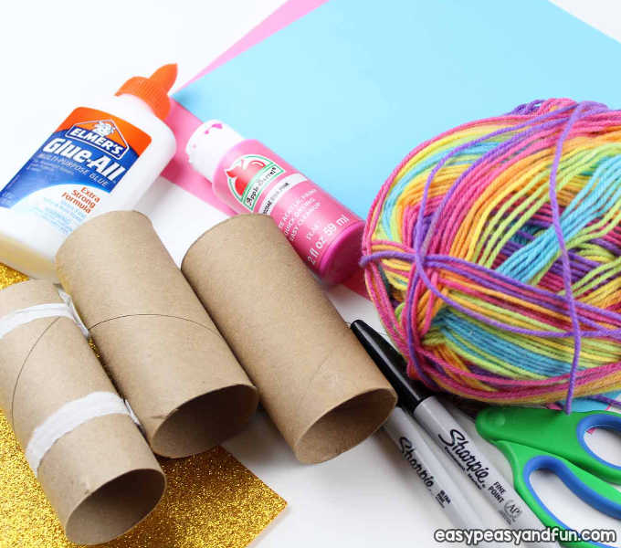 Unicorn Toilet Paper Roll Craft Easy Peasy And Fun