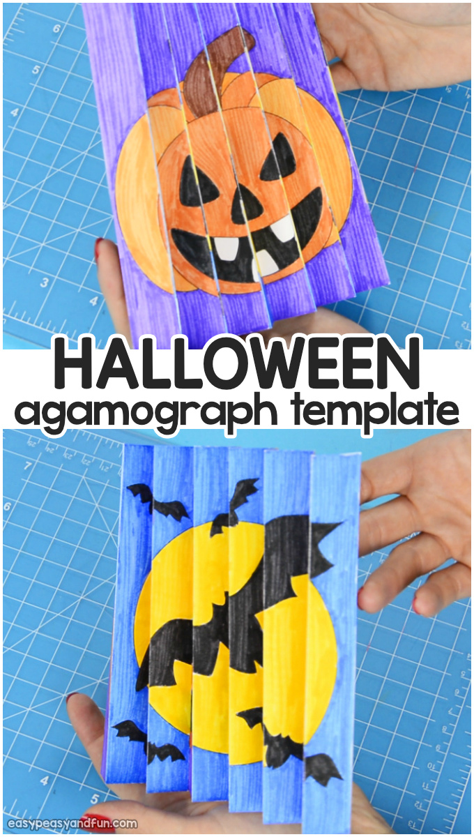 halloween agamograph template agamograph template easy peasy and 2127