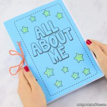 All About Me Printable Book Templates