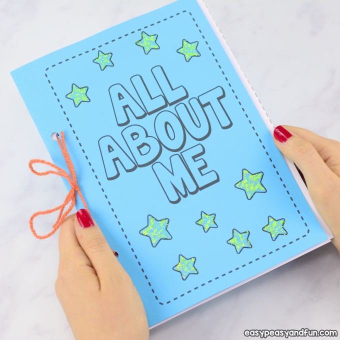 All About Me Printable Book Templates Easy Peasy And Fun