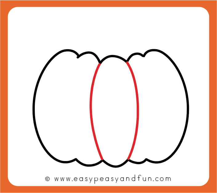 how to draw a pumpkin easy peasy and fun