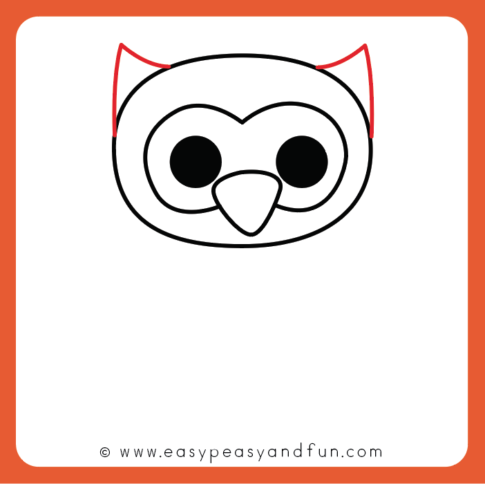 How To Draw An Owl Step By Step Instructions Easy Peasy