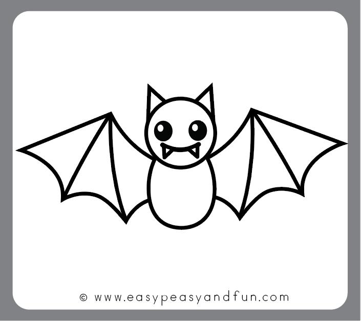 Finsihed Bat Drawing