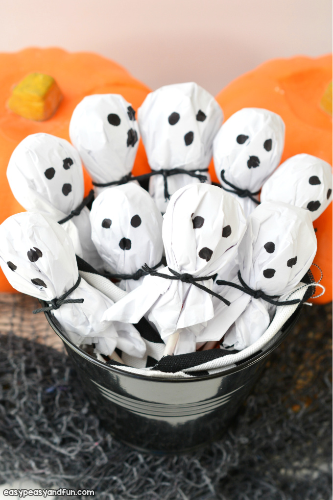 Lollipop Ghosts Craft