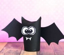 Toilet Paper Roll Bat Craft – Great Idea for Halloween Crafting
