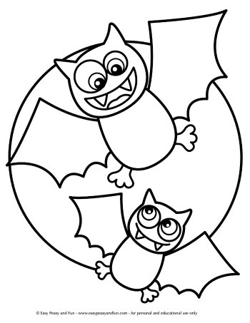 funny halloween coloring pages - photo#38