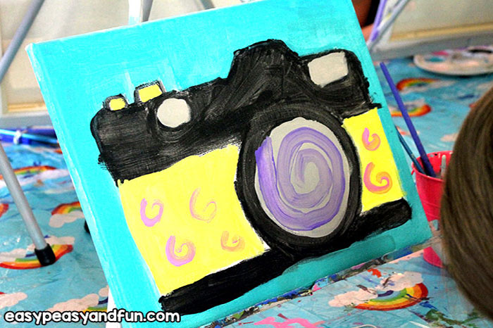 Canvas Art Camera