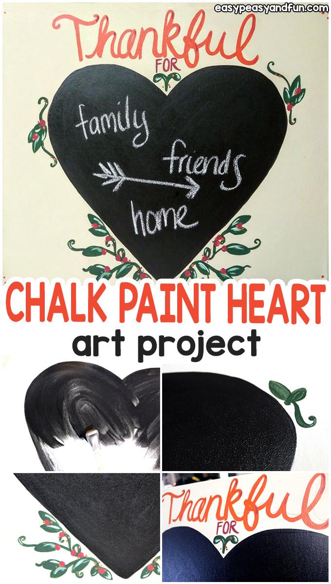 Chalk Paint Art Project