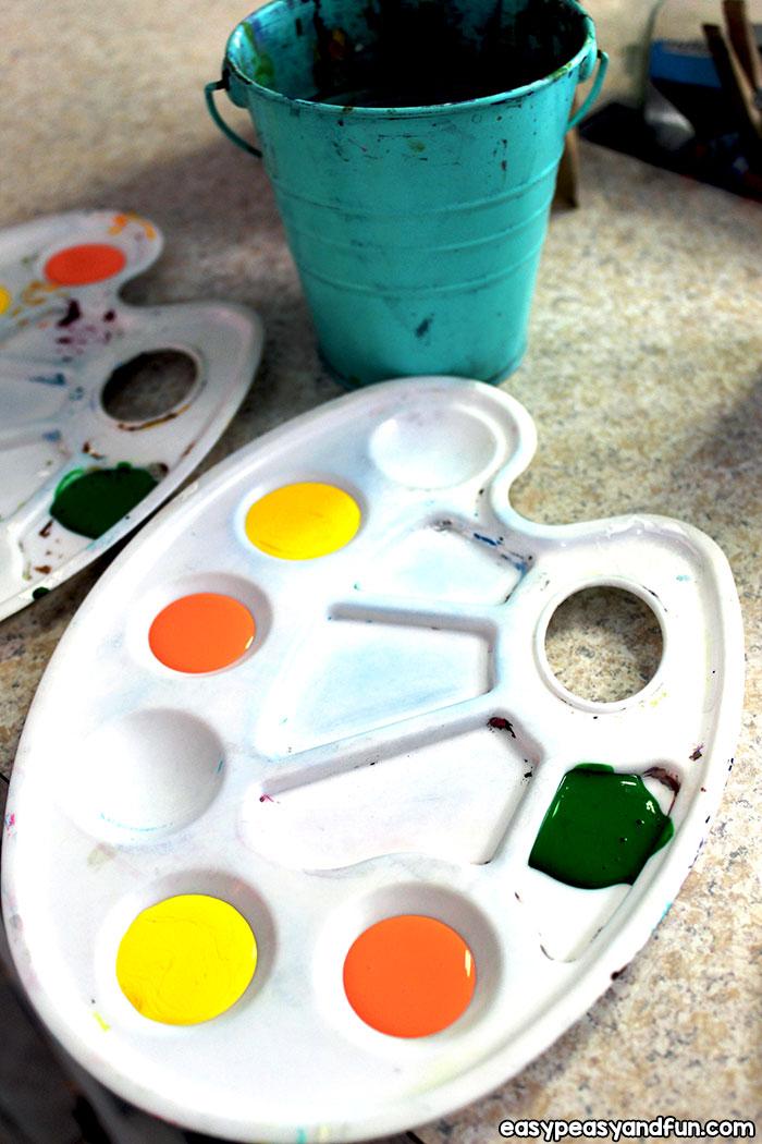 Colors Palette for Thumbprint Art