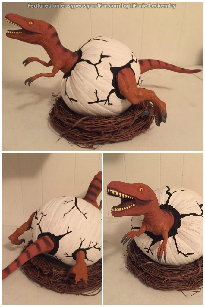 Dinosaur Pumpkin Craft Idea