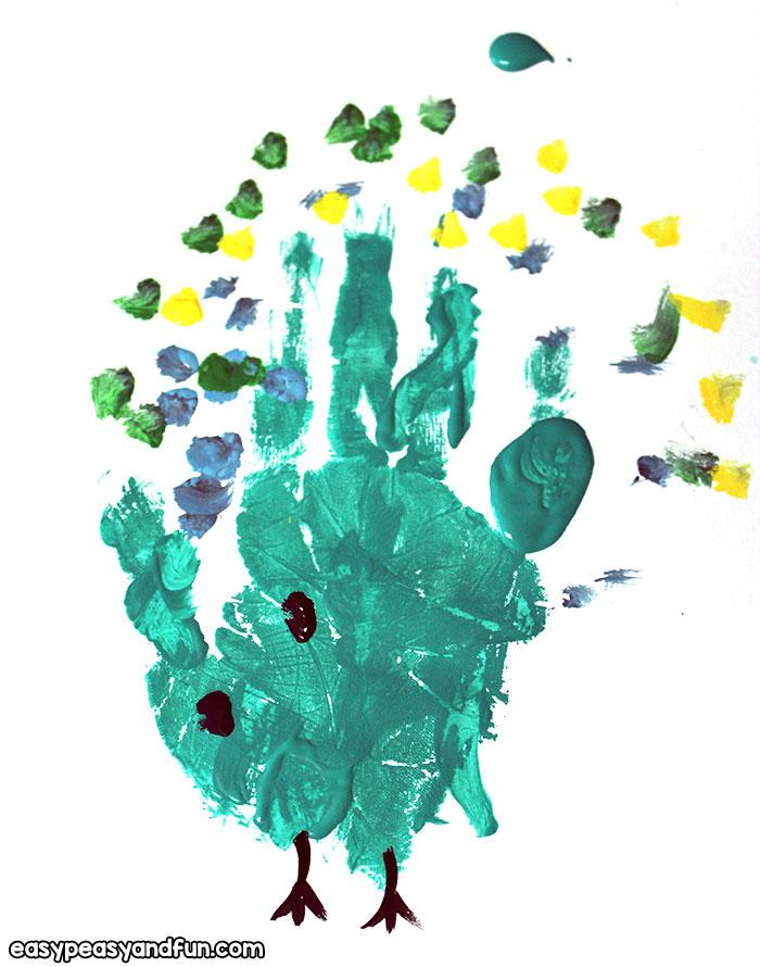 Easy Fingerprint Art for Kids