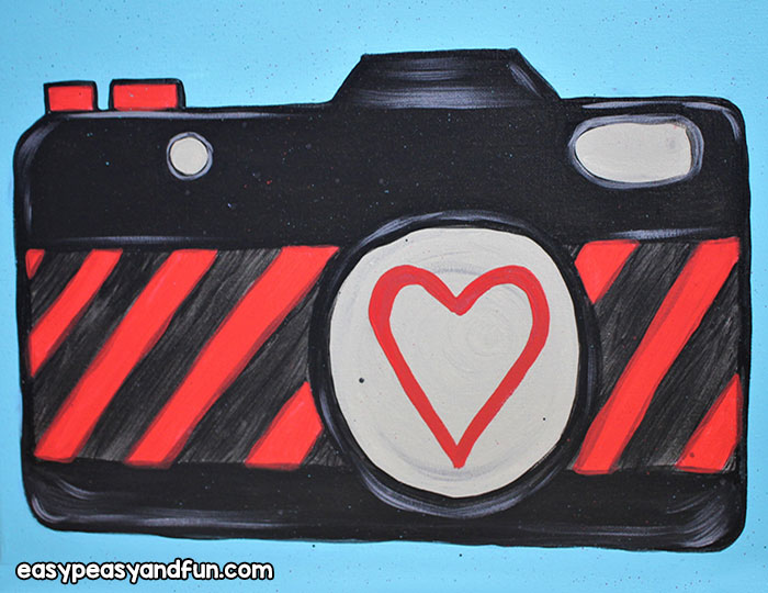 Finished Camera Painting