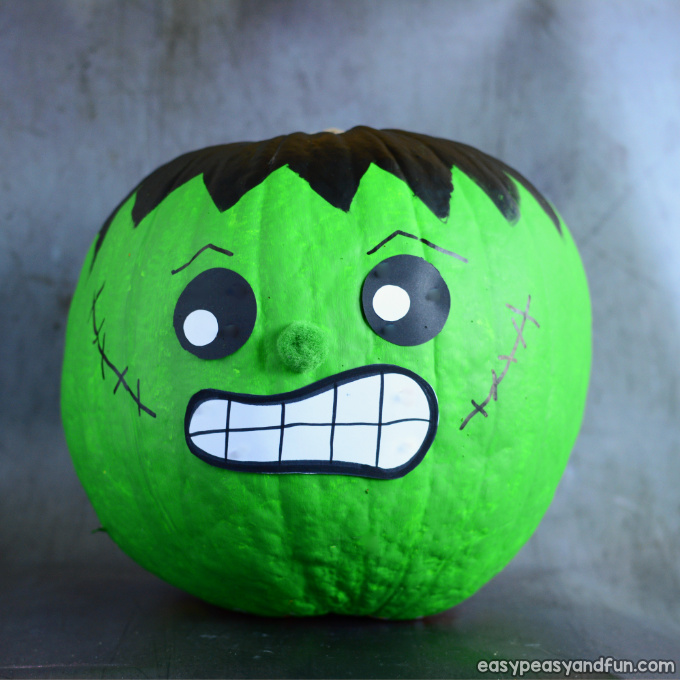 Frankenstein Pumpkin Painting Idea