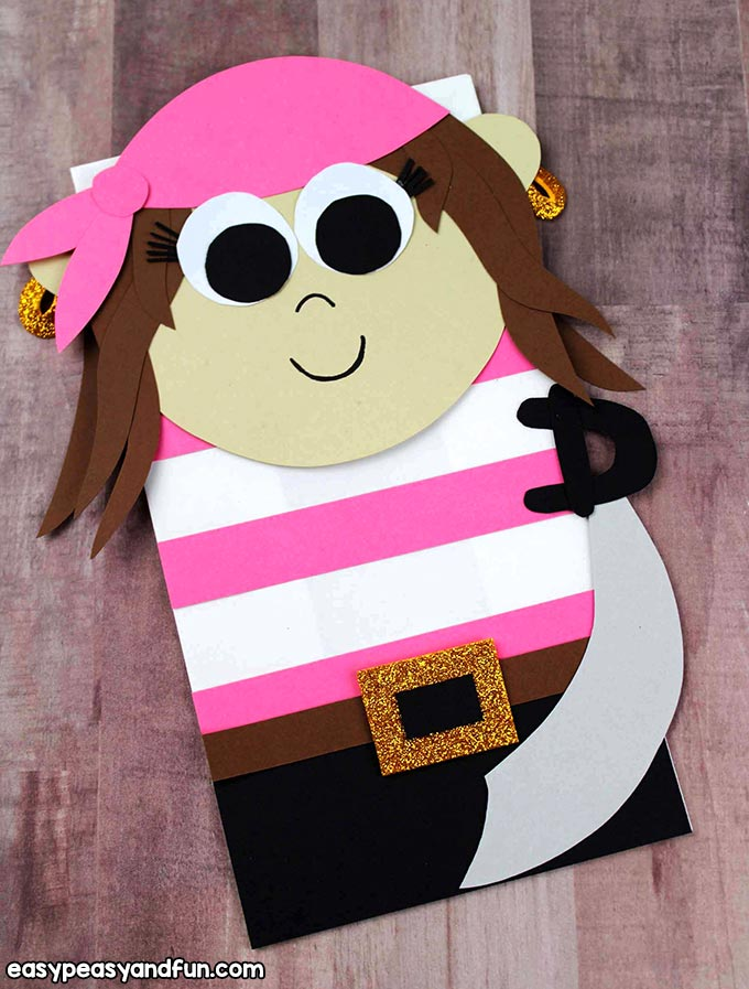 Girl Pirate Puppet