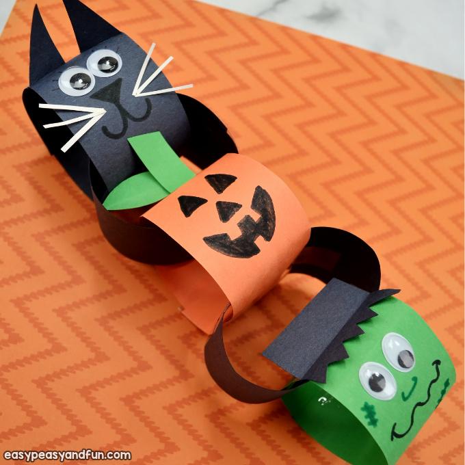 Halloween Paper Chain Craft
