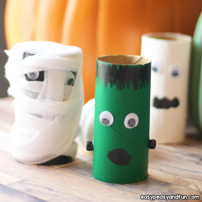 Halloween Toilet Paper Roll Crafts Easy Peasy And Fun