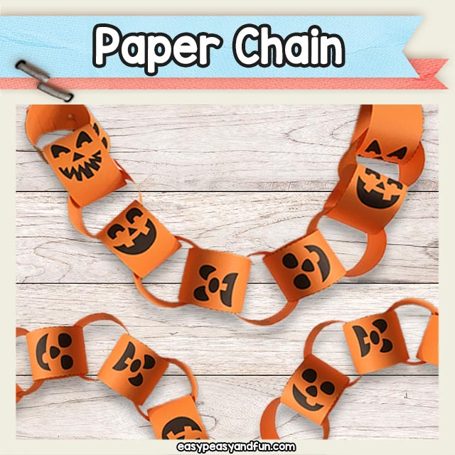 Printable Paper Chain Template