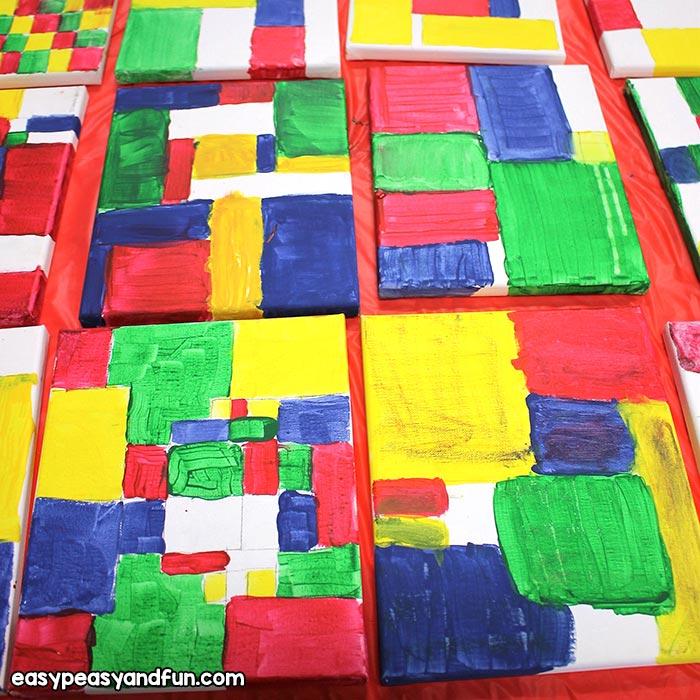 Mondrian Abstract Art