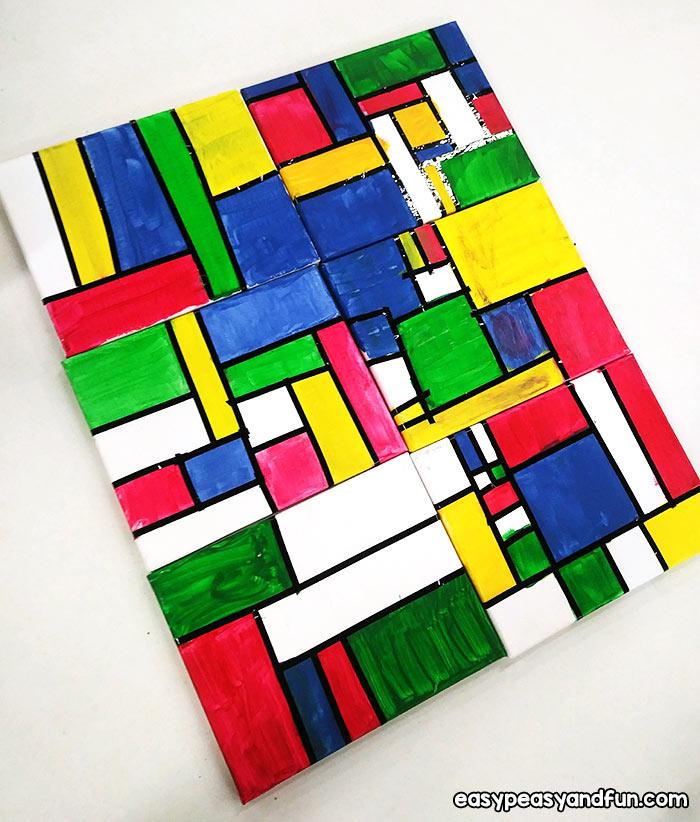 Mondrian Canvas Art