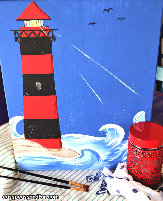 Paint a Lighthouse