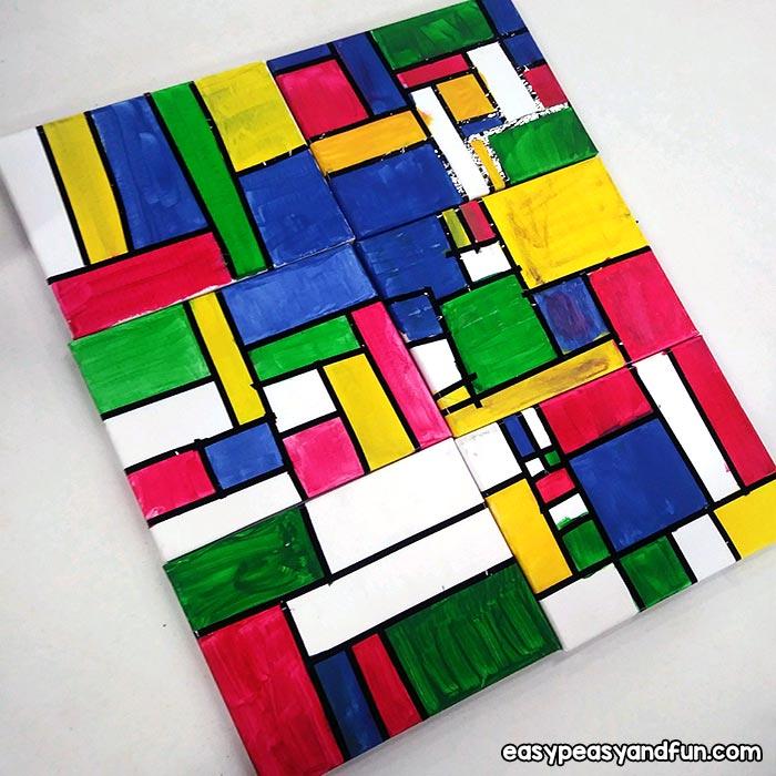 Piet Mondrian Canvas Art