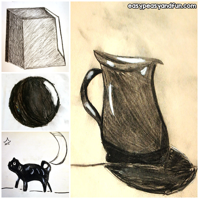 Charcoal Drawing for Kids