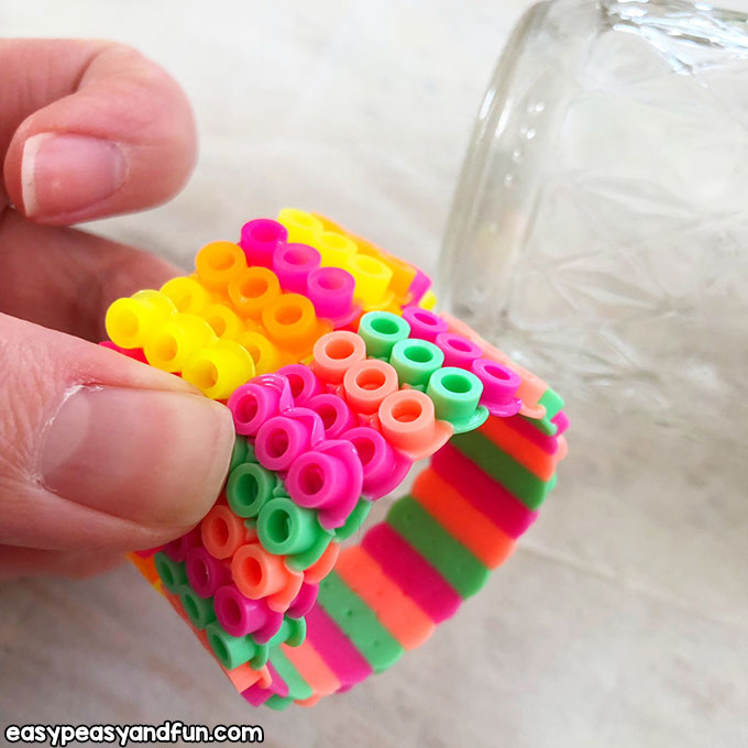 Colorful Bead Bracelets to Make with Kids